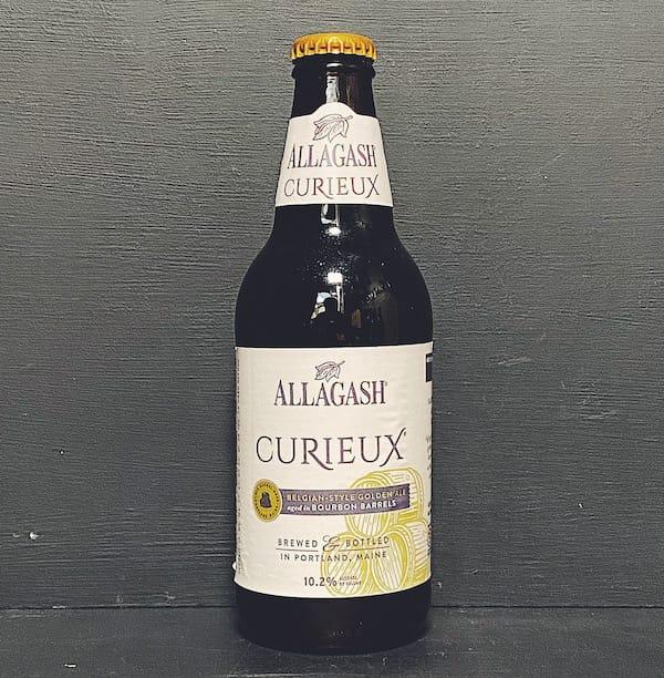 Allagash Curieux Bourbon Barrel Aged Tripel USA vegan