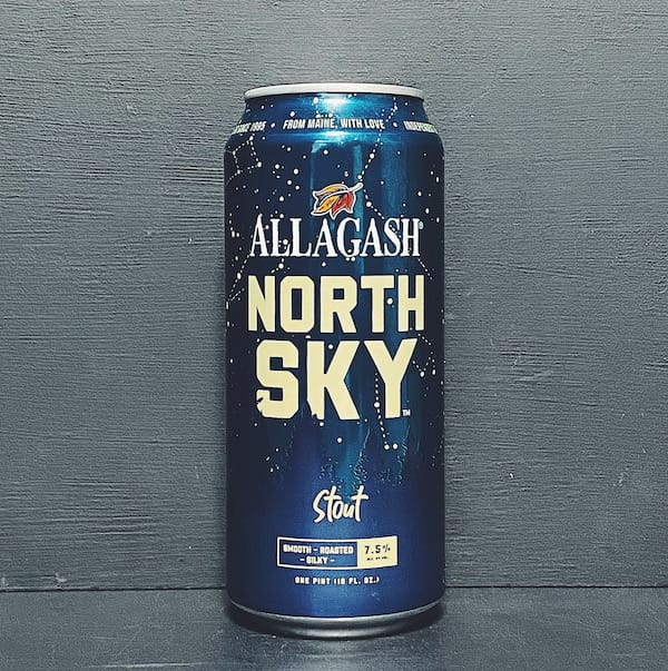 Allagash North Sky Stout USA vegan