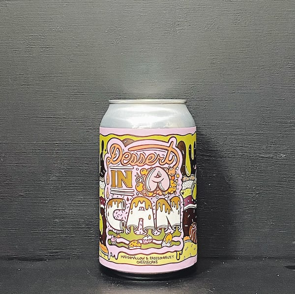 Amundsen Dessert In A Can Marshmallow & Passionfruit Cheesecake. Marshmallow Passionfruit Cheesecake Imperial Pastry Stout. Contains lactose. Norway