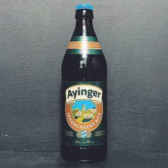 Ayinger Jahrhundert Bier Export Lager Germany vegan