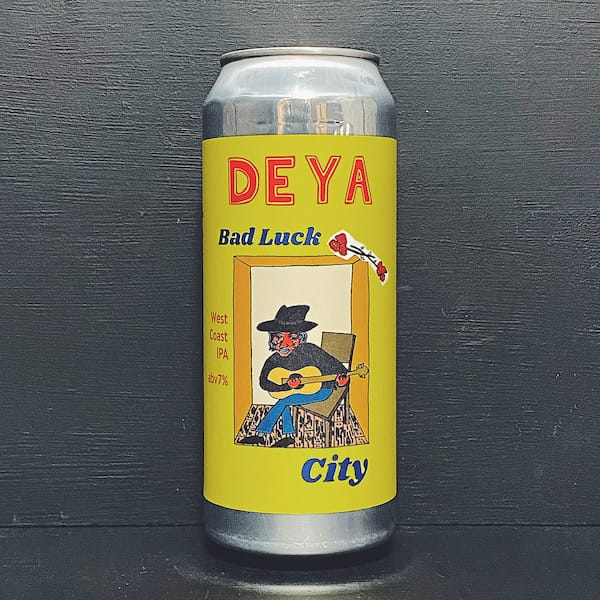 Deya Bad Luck City West Coast IPA Cheltenham vegan
