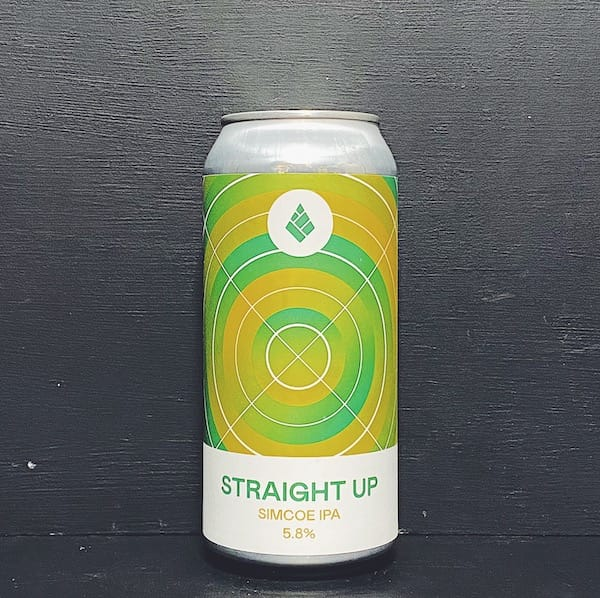 Drop Project Straight Up Simcoe IPA Sussex vegan