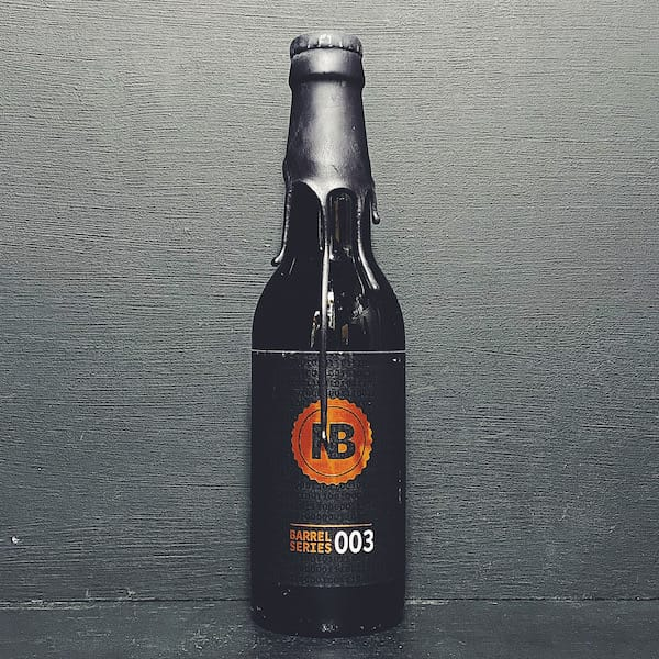 Nerdbrewing Barrel Series 003 Bourbon Barrel Aged Barley Wine Sweden vegan