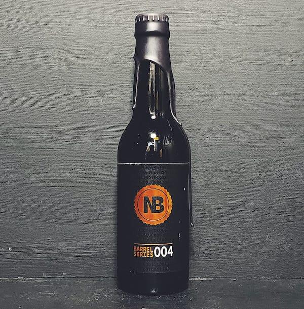 Nerdbrewing Barrel Series 004 Bourbon Barrel Aged Imperial Stout Sweden vegan
