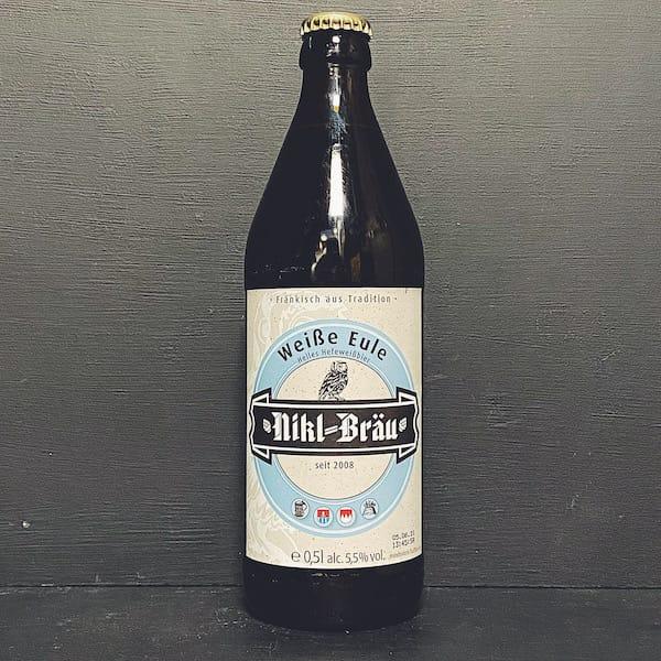 Nikl Brau Weisse Eule Helles Hefeweizen Germany wheat beer vegan
