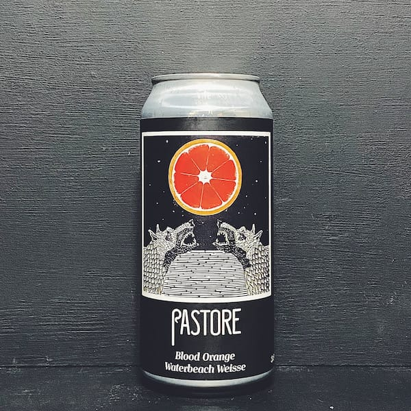 Pastore Blood Orange Waterbeach Weisse Sour Cambridge vegan