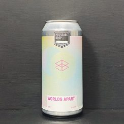 Pressure Drop Worlds Apart DIPA London vegan