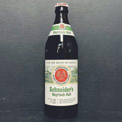 Schneiders Bayrisch Hell Helles Landbier Lager Germany vegan