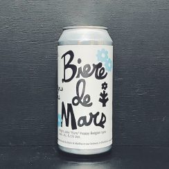 "St Mars of the Desert Biere de Mars Bright, pale ""Euro"" hoppy Belgian type beer Sheffield vegan"