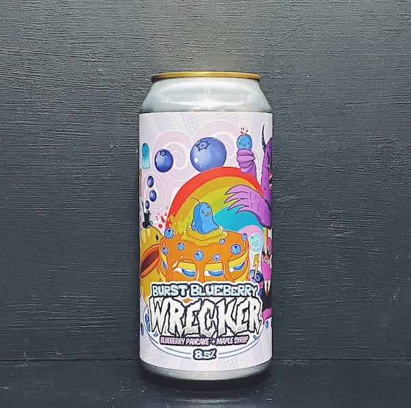 Staggeringly Good Burst Blueberry Wrecker Fruit Beer Portsmouth