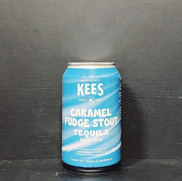 Kees Caramel Fudge Stout Barrel Aged Tequila Netherlands vegan