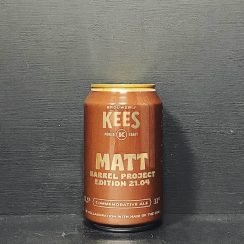 Kees Matt Barrel Aged American Strong Ale Hair Of The Dog collar Netherlands vegan