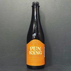 Mikkeller San Diego Beer Geek Pun Kxng Shake Imperial Stout Made w/ Roasted Pumpkin, Maple, Cinnamon, Nutmeg, Ginger, Vanilla Aged in Bourbon & Maple Bourbon Barrels. USA Denmark vegan