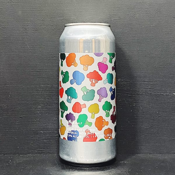 Other Half Double Dry Hopped Broccoli Imperial IPA USA vegan