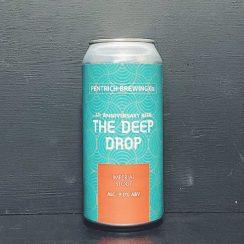 Pentrich The Deep Drop Imperial Stout Derbyshire Flathead collab vegan