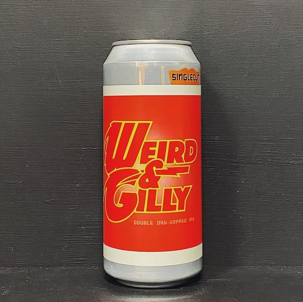 Singlecut Weird & Gilly DDH IPA USA vegan