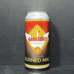 Ganstaller Burned Malt Rauch Marzen Rauchbier Lager Germany vegan