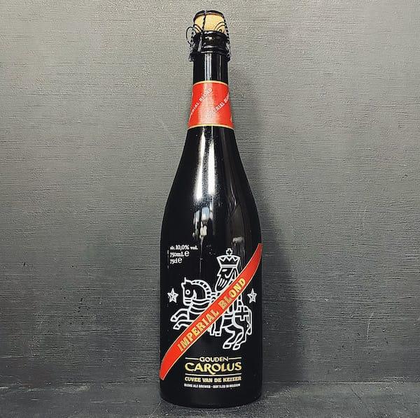Het Anker Gouden Carolus Cuvee Van de Keizer Rood. Belgian Strong Golden Ale Belgium vegan