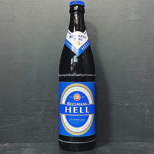Keesmann Hell Helles Lager Germany vegan