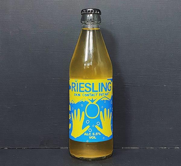 Noita Riesling Skin Contact Pet Nat Sparkling Natural Cider Finland vegan gluten free