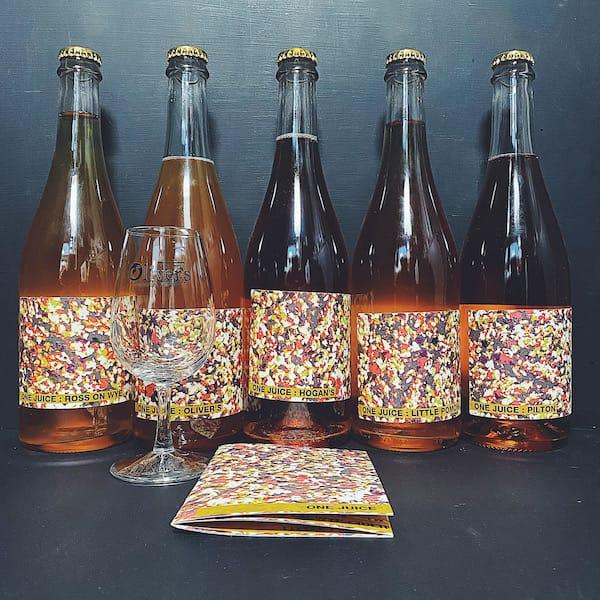 Ross Cider Pilton Hogans Little Pomona Olivers One Juice Selection Cider Gluten Free Vegan UK