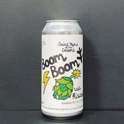 St Mars of the Desert Boom Boom Koelship IPA Sheffield vegan