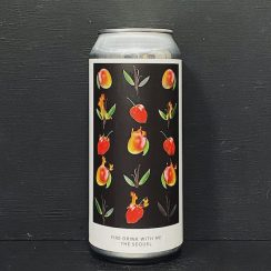 Evil Twin NYC Fire Drink With Me The Sequel Sour Double India Pale Ale with mango, vanilla & habanero peppers USA vegan