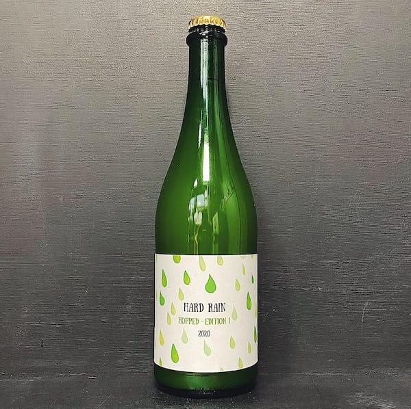Little Pomona Hard Rain Hopped 2020 Cider Herefordshire vegan gluten free