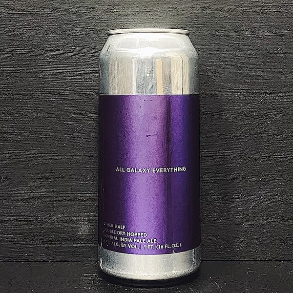 Other Half Double Dry Hopped All Galaxy Everything DDH Imperial IPA USA vegan