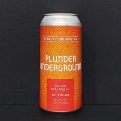 Pentrich Plunder Underground Imperial IPA Derbyshire vegan