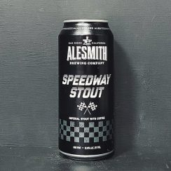 Alesmith Speedway Stout cans USA vegan