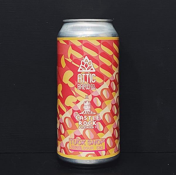 Attic Castle Rock Tuck Shop Rhubarb & Custard Sour Birmingham vegan