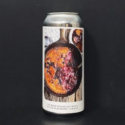 Evil Twin NYC IVE BEEN MISSING MY MOMS SPICED BLACKBERRY COBBLER Sour India Pale Ale with blackberry, cinnamon & vanilla beans. USA