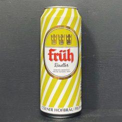 Fruh Kolsch Radler Lemon Germany vegan