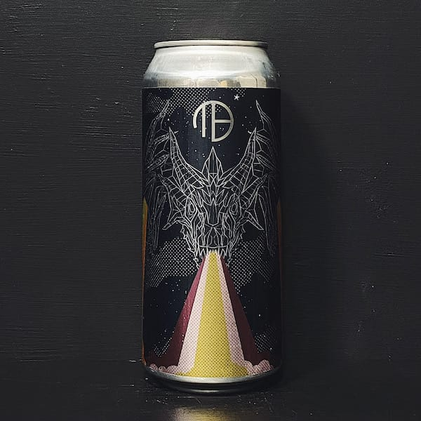 Mortalis Hydra Passionfruit Mango Peach Fruited Sour Ale brewed with natural flavours USA