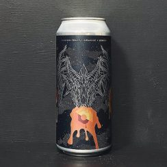 Mortalis Hydra Secret Machine Fruited Sour Ale brewed with natural flavours. USA