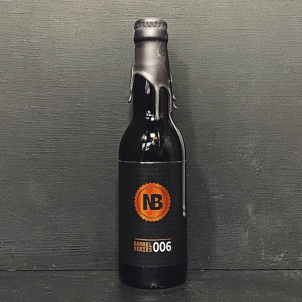 Nerdbrewing Barrel Series 006 Bourbon BA Imperial Milk Stout. Sweden