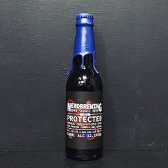 Nerdbrewing Protected 2021. Imperial Chocolate Milk Stout with roasted peanuts & caramel. Sweden