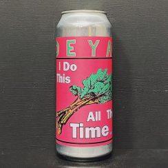 Deya I Do This All The Time Rhubarb & Coriander White Beer Cheltenham vegan