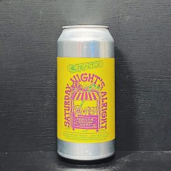 Neon Raptor Saturday Nights Alright Passion Fruit Lemonade Sour IPA Nottingham vegan