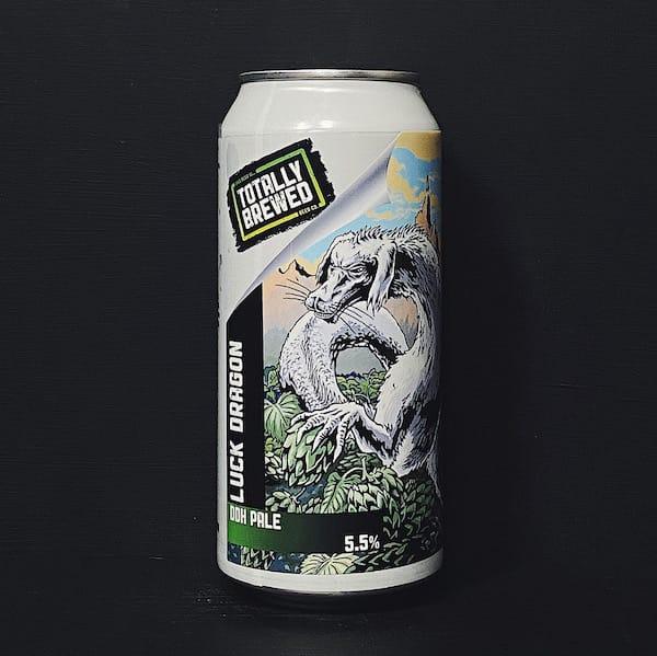 Totally Brewed Luck Dragon DDH Pale Nottingham vegan