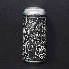 Black Iris Clawing Panther Rum Barrel Aged Coffee Imperial Stout Nottingham