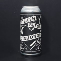 Black Iris Death Before Dishonour TIPA Nottingham vegan