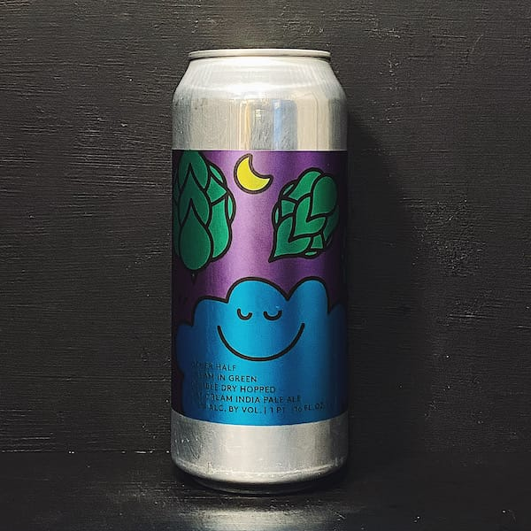 Other Half Double Dry Hopped Dream In Green Double Dry Hopped Oat Cream India Pale Ale. USA NYC
