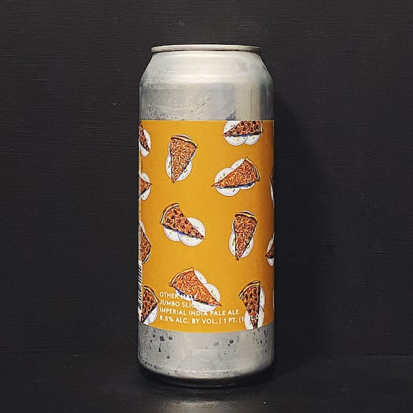 Other Half Jumbo Slice Imperial India Pale Ale NYC USA vegan