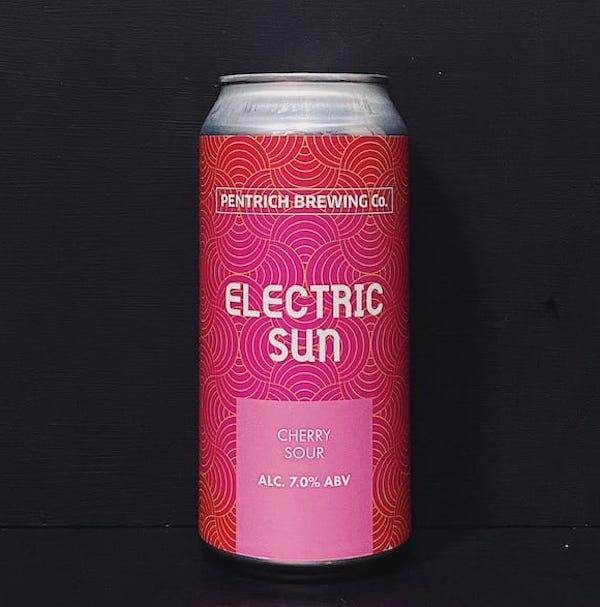 Pentrich Electric Sun Cherry Sour Derbyshire vegan