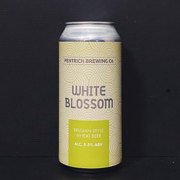 Pentrich White Blossom Witbier Derbyshire vegan