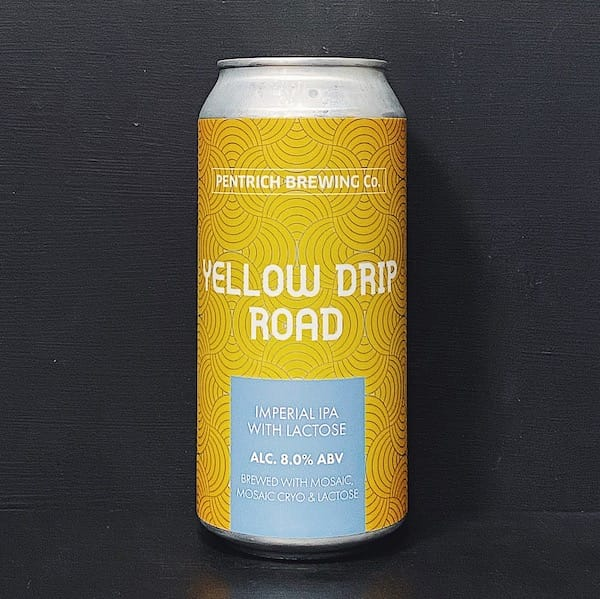 Pentrich Yellow Drip Road Imperial IPA Derbyshire