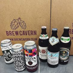 Brew Cavern Mixed Packs Lager Mixed Case 6 x Lagers Nottingham vegan