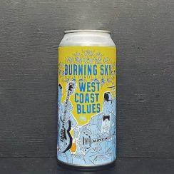 Burning Sky West Coast Blues IPA Sussex vegan